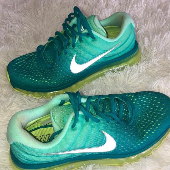 Womens Nike Air Max 27 Rio Teal Size 10